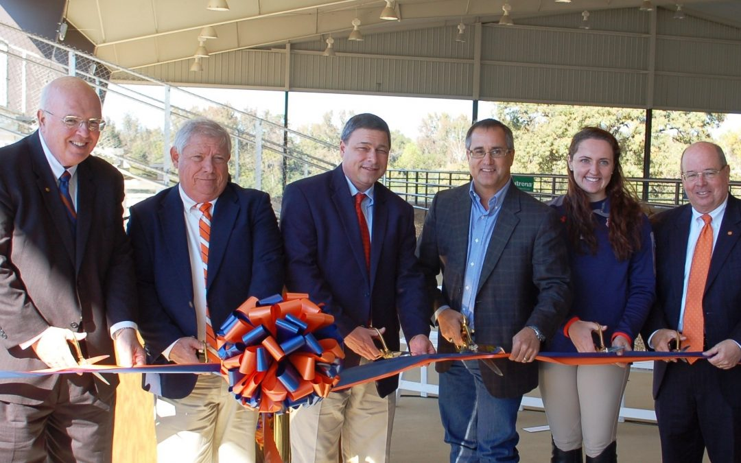 Ribbon cutting marks official opening of Auburn equestrian arena