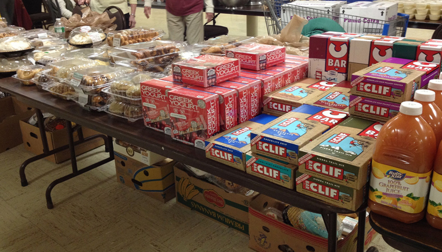 A nudge toward healthier food choices