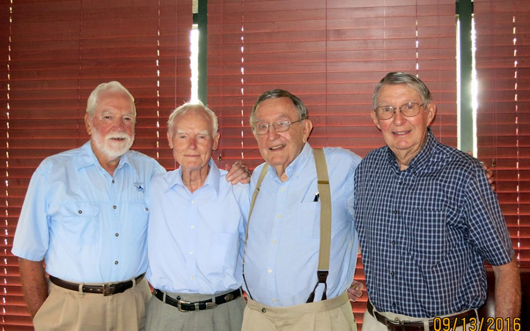 The Auburn bond is more secure than glue: '52 alumni recount lifelong friendships made at Auburn