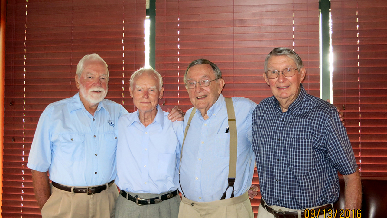 "Auburn ROTC Alumni, John E. Horne, Harry W. Houston, Hanchey E. ""Mickey"" Logue, Ralph J. Ballew"