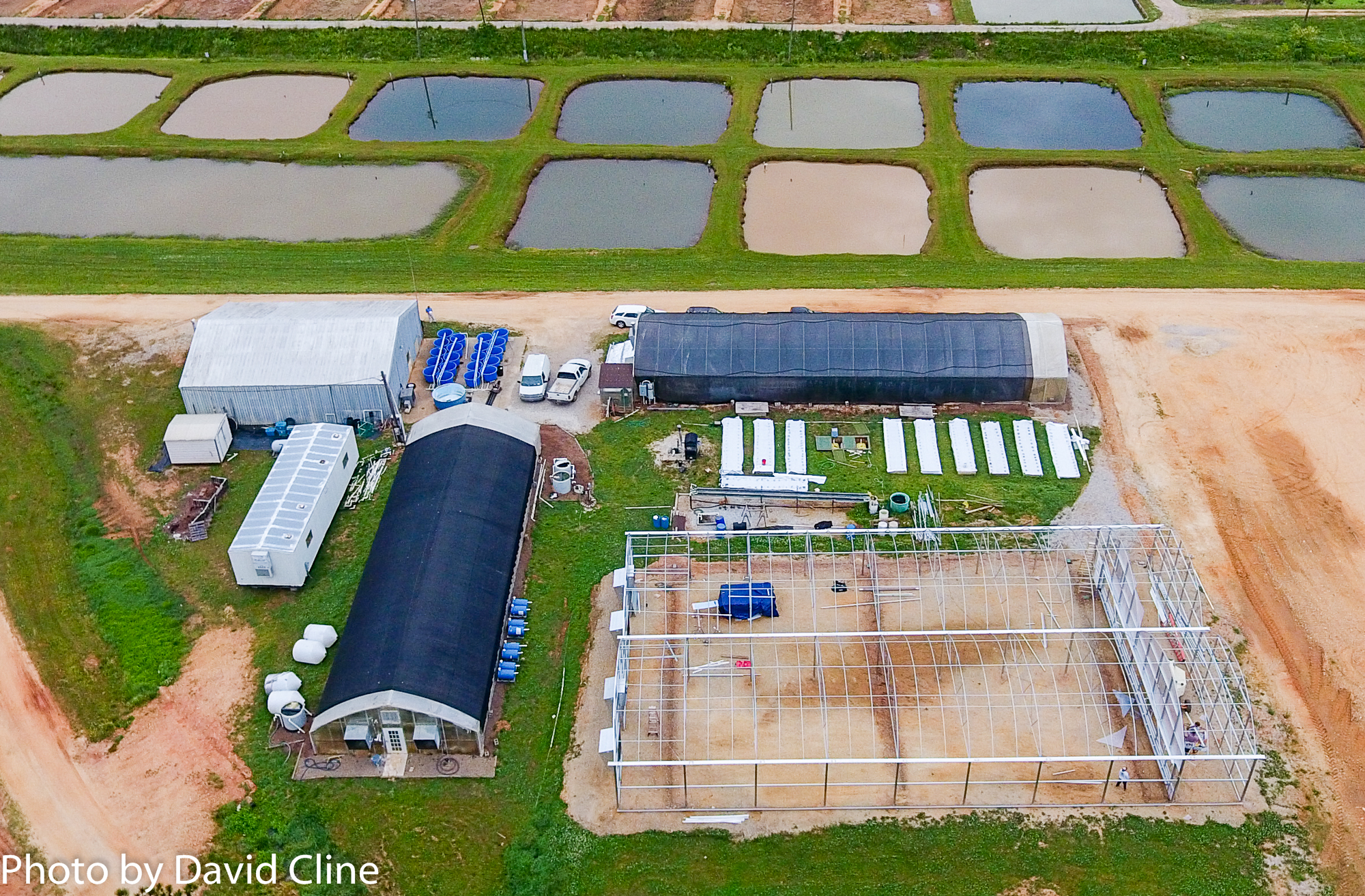 Picture of AU Aquaponic Facility
