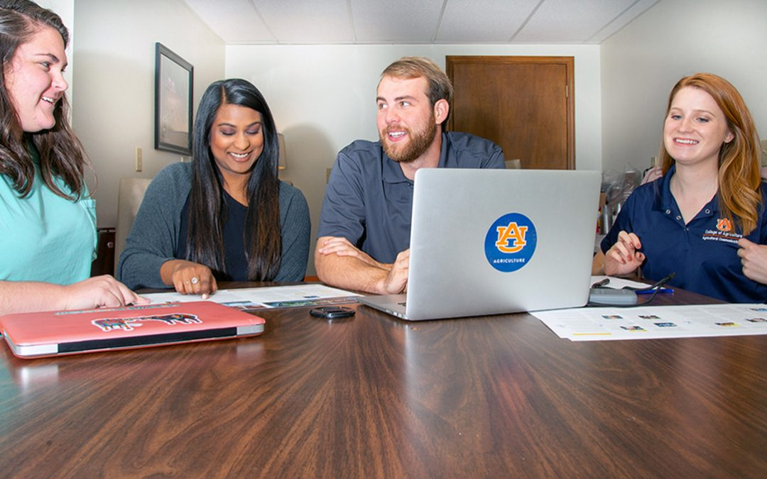 Ag communications majors get down to business
