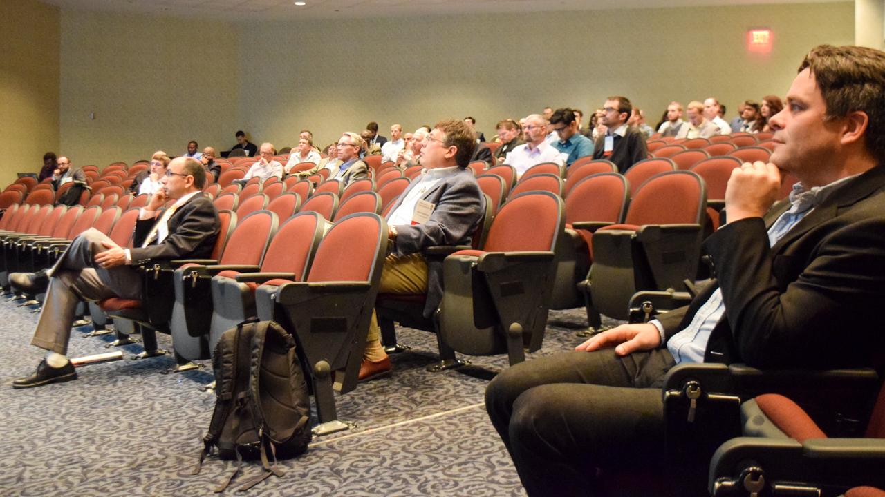 TCS Symposium, Hotel at Auburn, Alabama, lecture hall