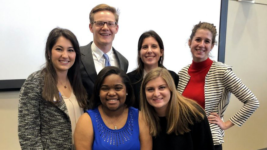 Auburn ag students finish first in global health competition