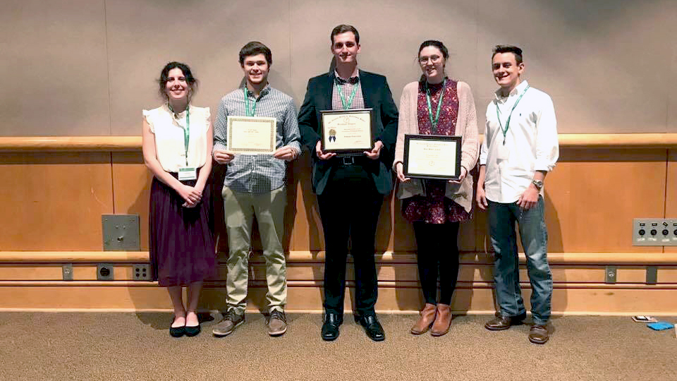 Horticulture Club wins top honors at professional society's regional meeting