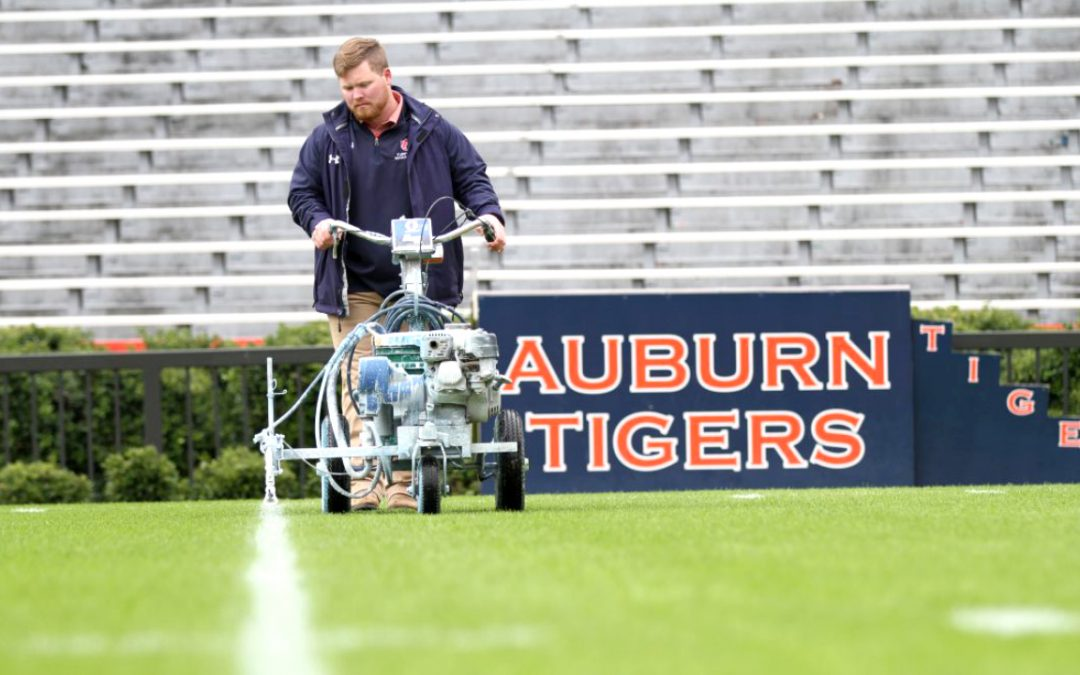 Super Bowl bound: AU turf management junior to train under legendary sports field groundskeepers