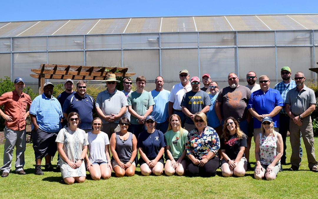 Horticulture department hosts workshop for Alabama agriscience teachers