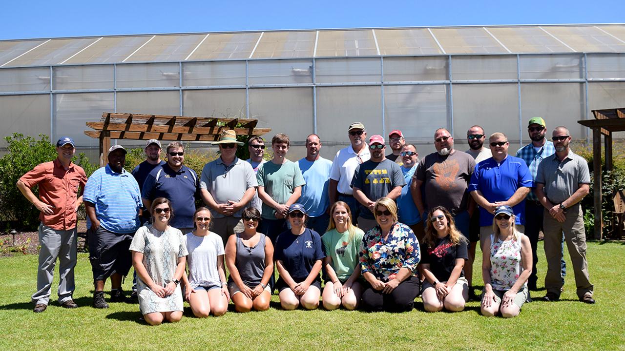 Alabama state teachers at Horticulture workshop at Auburn University, AL