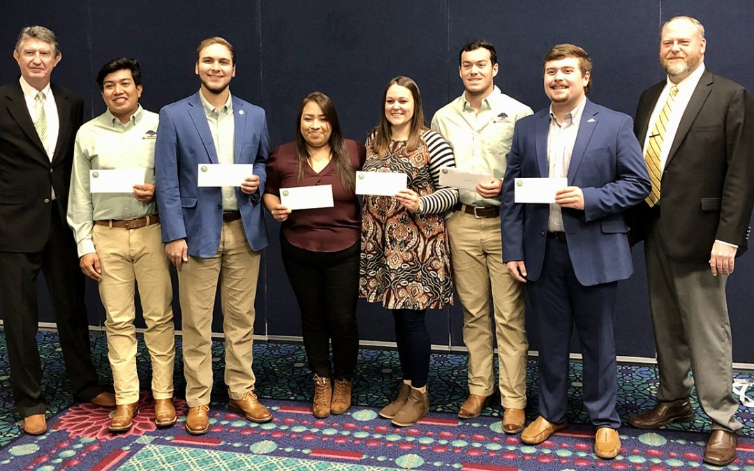 College of Ag students awarded ALNLA scholarships