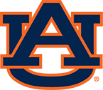 Auburn University logo, Alabama, USA