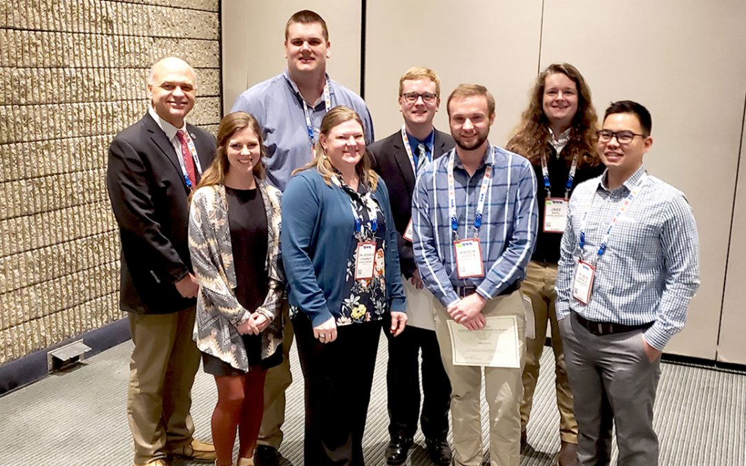 Poultry science department represented well at poultry forum and conference