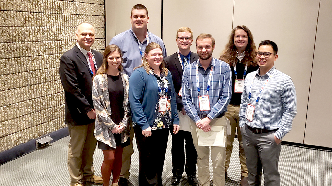 Poultry Awards for Auburn College of Agriculture students.