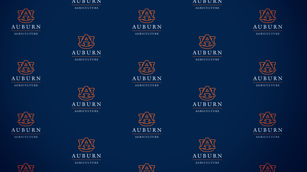 Auburn News & Events Red Carpet Photo Interview Agriculture Logo in the background.