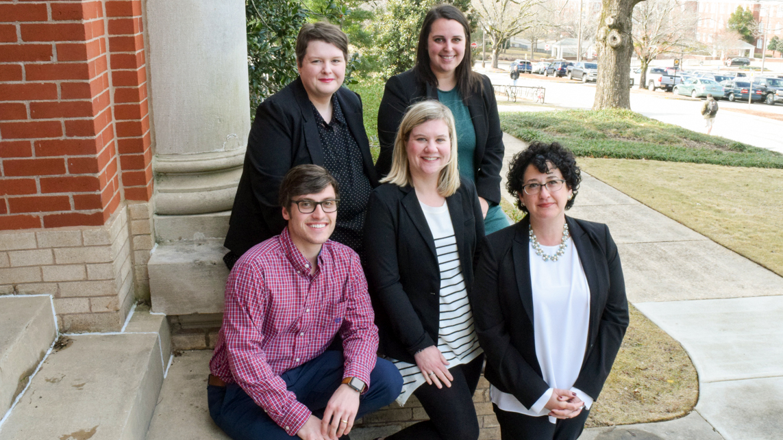 Auburn University College of Agriculture Student Services Team, Comer Hall, Alabama, USA