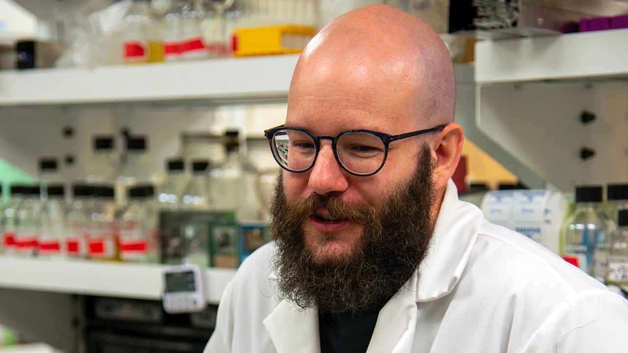 John Beckmann, Auburn University Entomologist, lab interview in Alabama