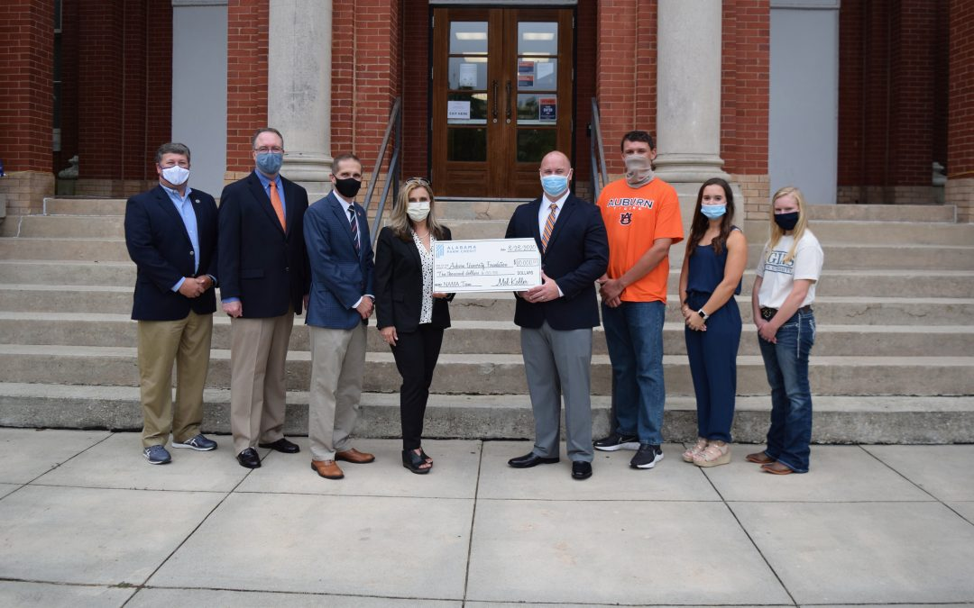 Alabama Farm Credit provides financial support for Auburn's NAMA team