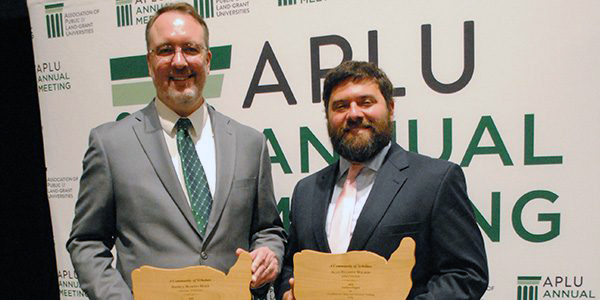 Wilson, Duke honored with USDA teaching excellence awards