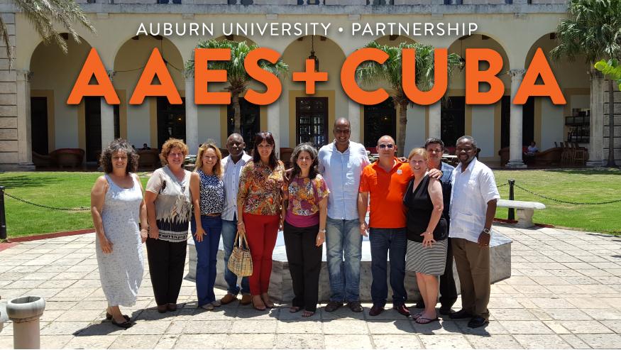 Auburn University Faculty, AAES and Cuba Partnership in Havana