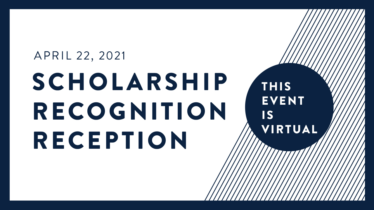 Scholarship Recognition Reception Banner