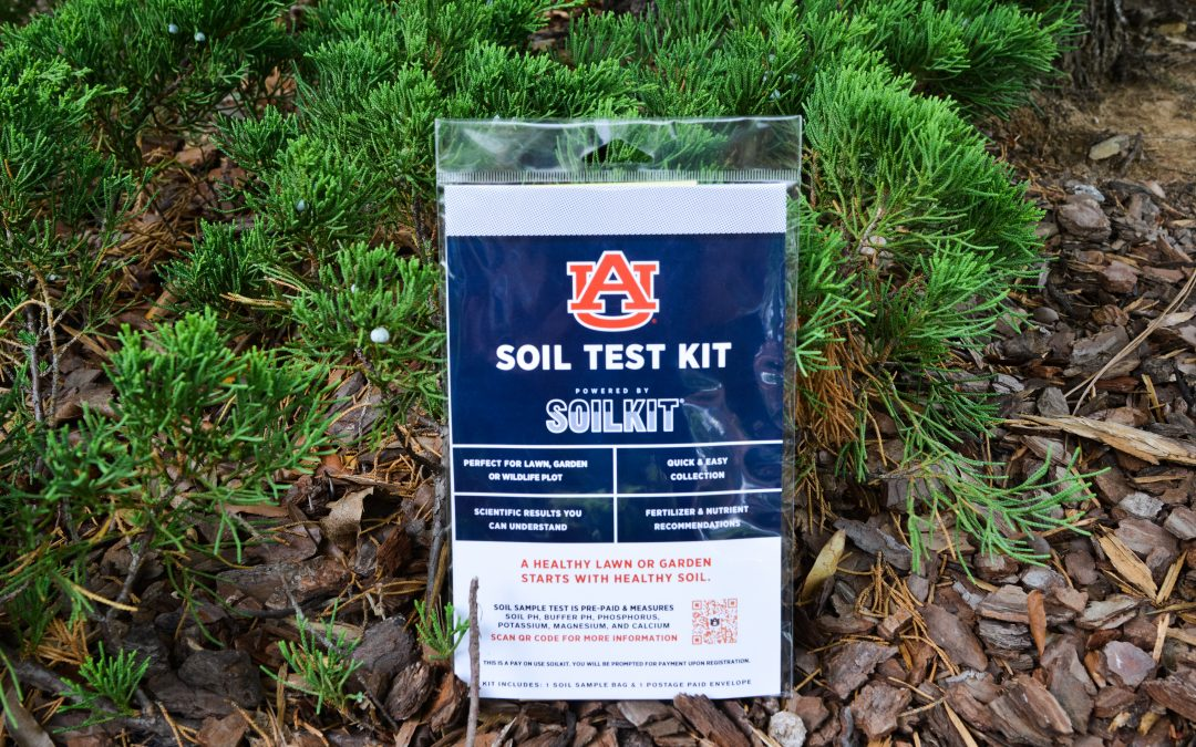 Auburn-branded SoilKit to give the public access to research-based results