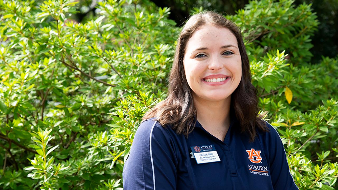 Gracie Sims, Poultry Science graduate