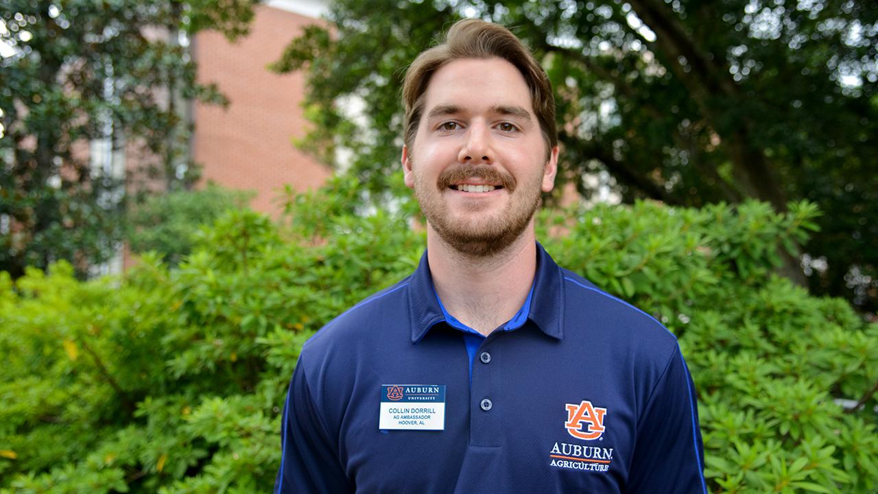 Collin Dorril, Auburn Ag Ambassadors, AL Student, 2021