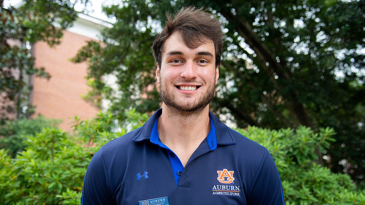 John Mumber, Auburn Ag Ambassadors, AL Student, 2021