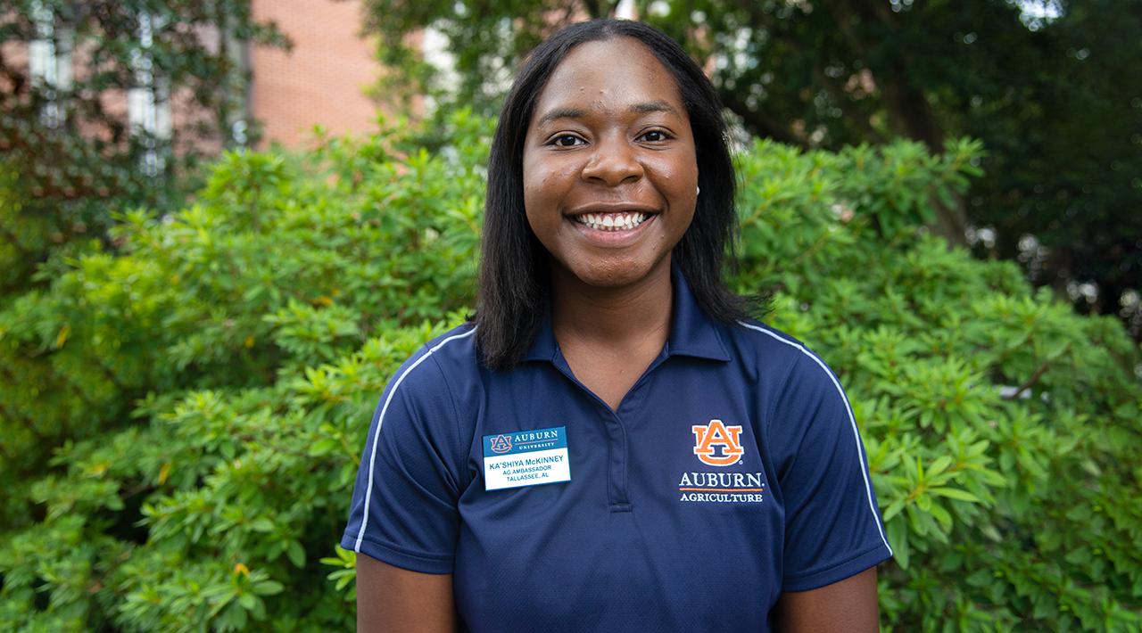 Ka'Shiya McKinney, Auburn Ag Ambassadors, AL Student, 2021