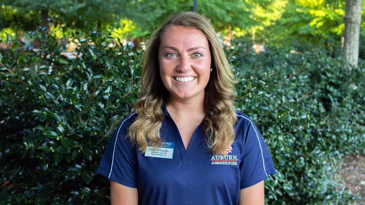 Kate McIndoo, Auburn Ag Ambassadors, AL Student, 2021
