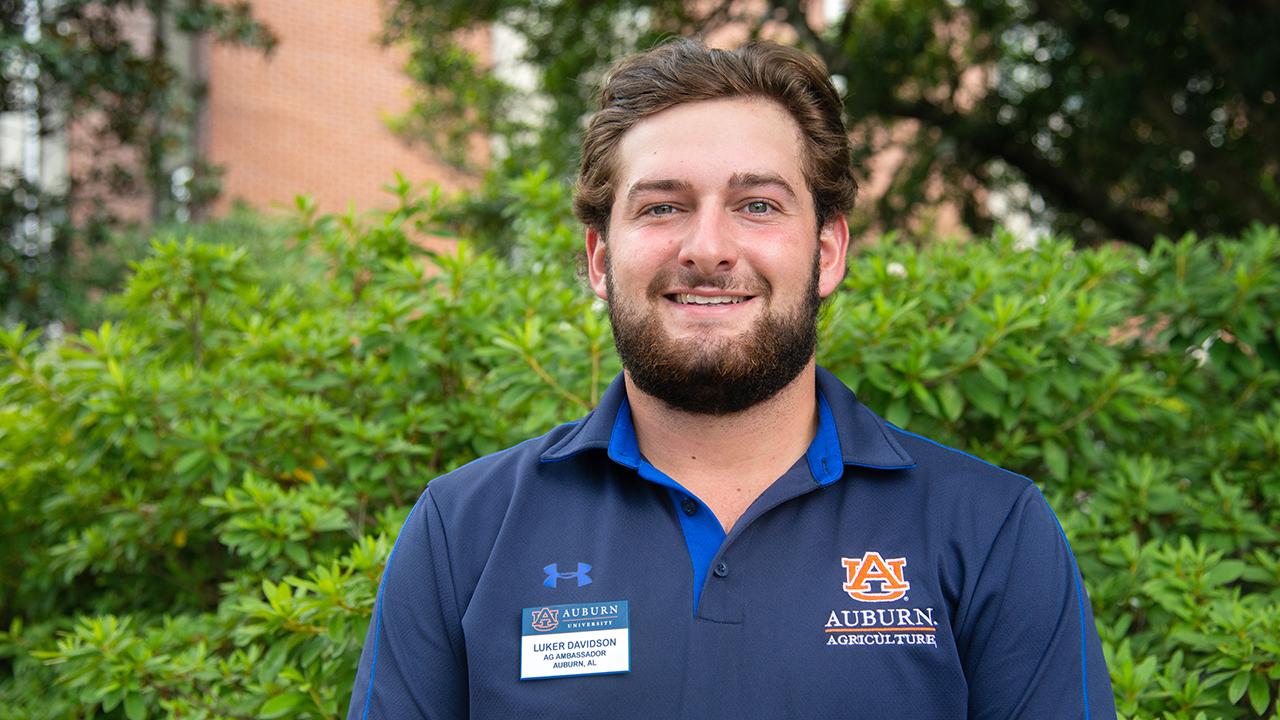 Luker Davidson, Auburn Ag Ambassadors, AL Student, 2021