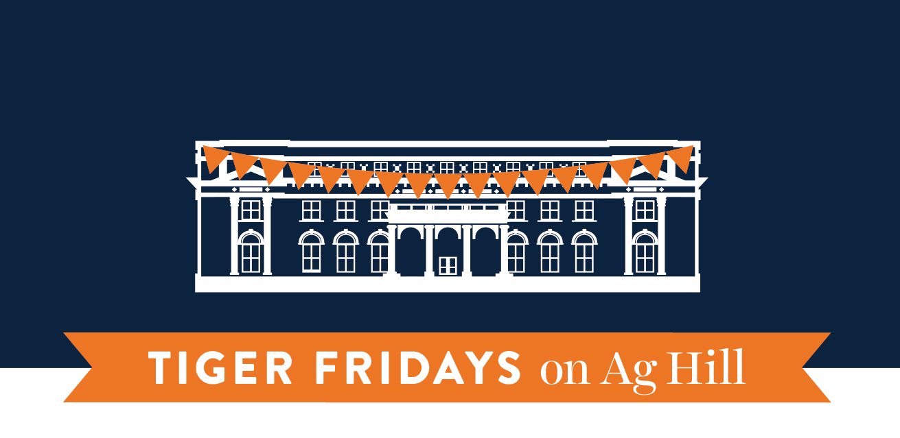 Tiger Fridays on Ag Hill Website Graphic